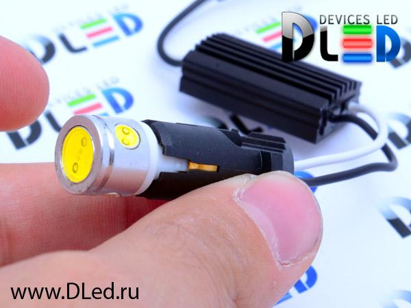 Какой резистор нужно ставить на автомобильные фары со светодионами